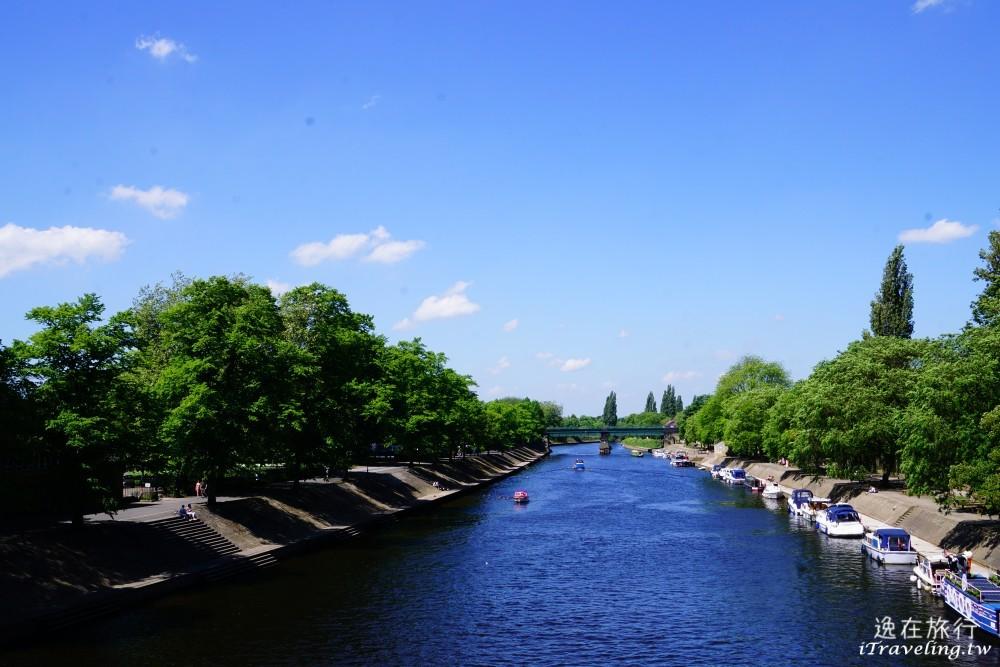 烏茲河, 約克, York, Lendal Bridge