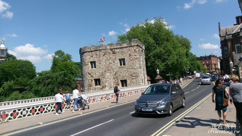 約克, York, Lendal Bridge, Lendal Tower