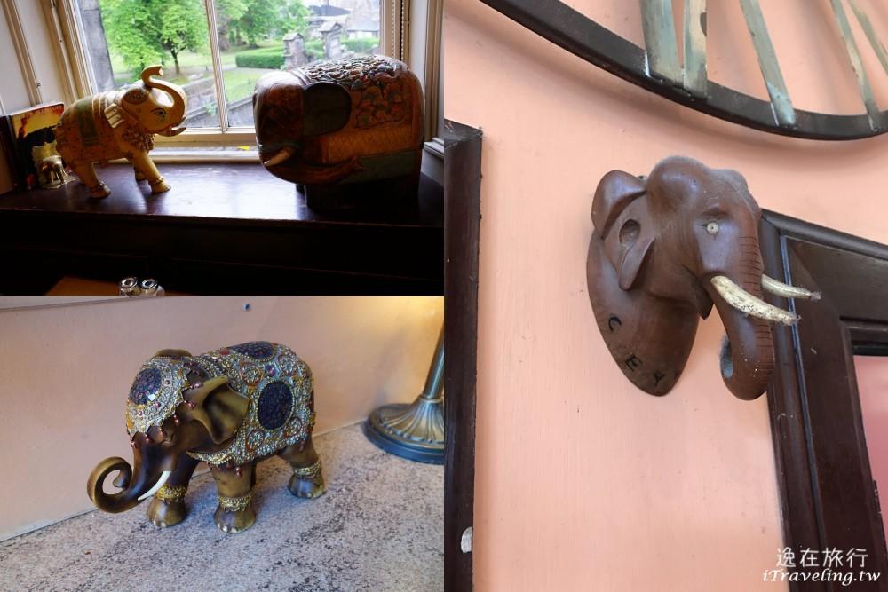 愛丁堡大象屋咖啡廳, The Elephant House, 大象