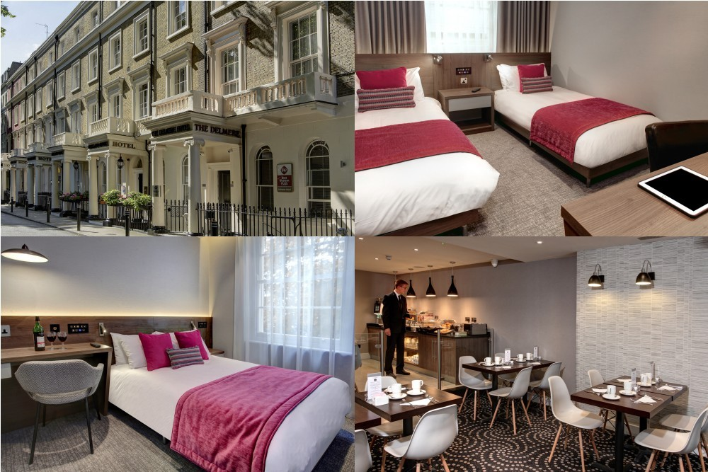 Best Western Plus Delmere Hotel, 倫敦飯店, 倫敦旅館, 倫敦住宿